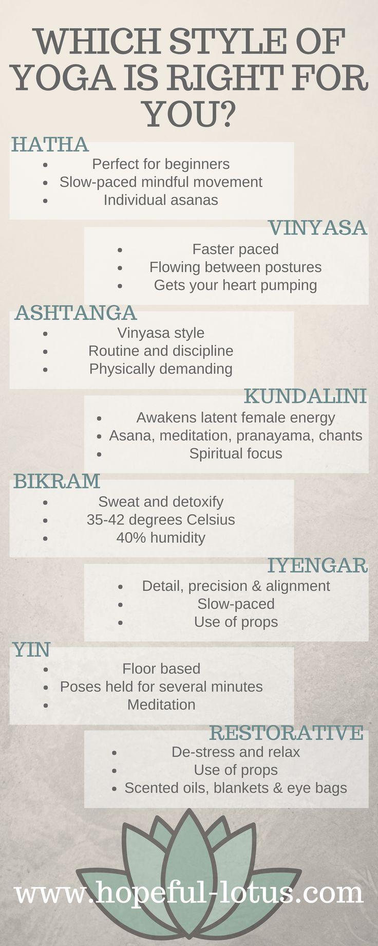 8 Arten von Yoga: Welcher Stil passt zu Ihnen #benefitsofpilates