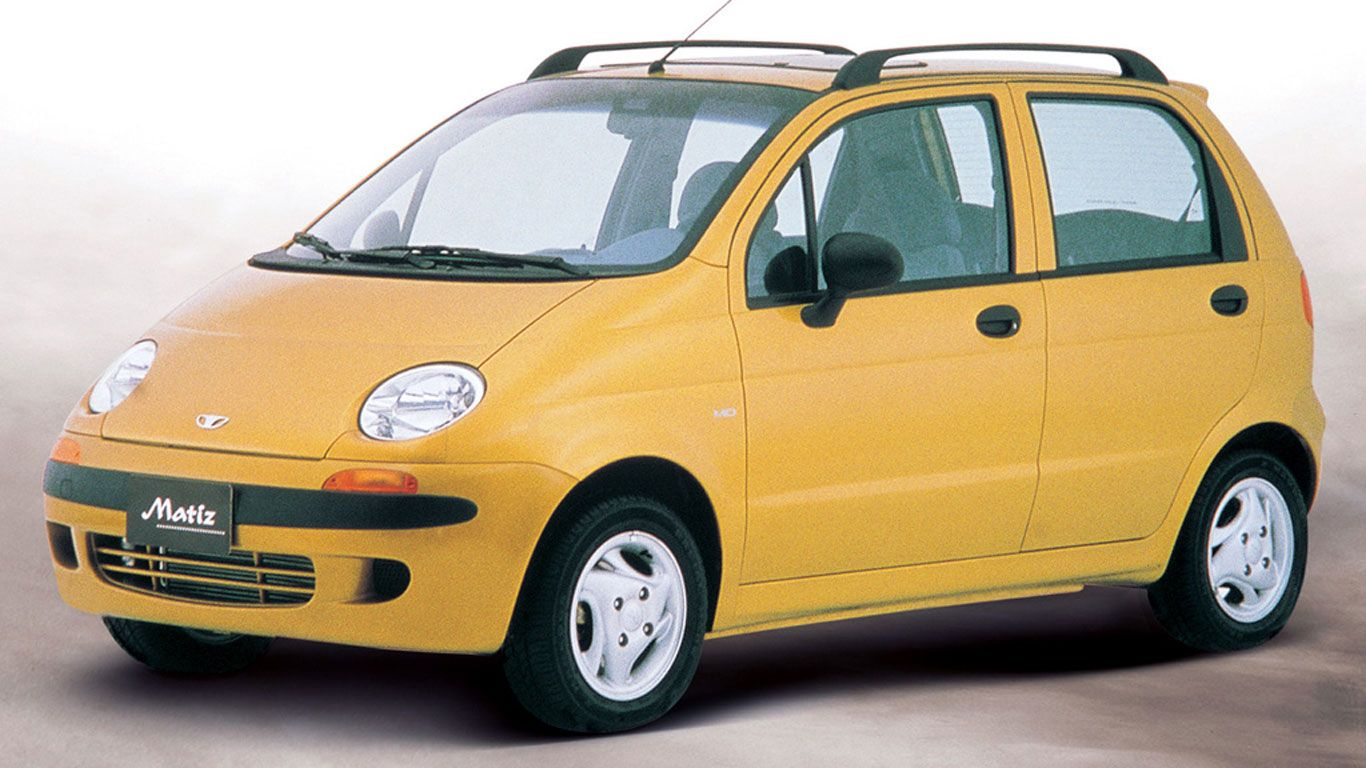 The Worst Car Facelifts Of All Time Car Daewoo Classic Cars