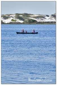 canoeing western lake