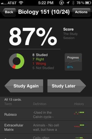 StudyBlue Digital Flashcards [App Review] Study apps