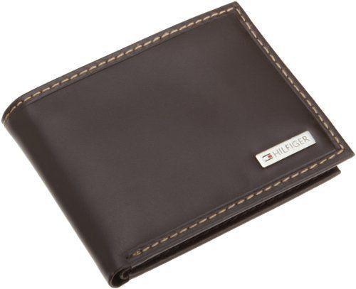 Tommy Hilfiger Men/'s Leather Credit Card ID Wallet Billfold 31TL22X062