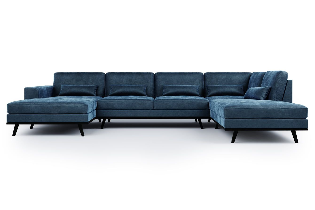 sofaer leather sofa protection cats u haga hoyre floyel bla mobler med sjeselong