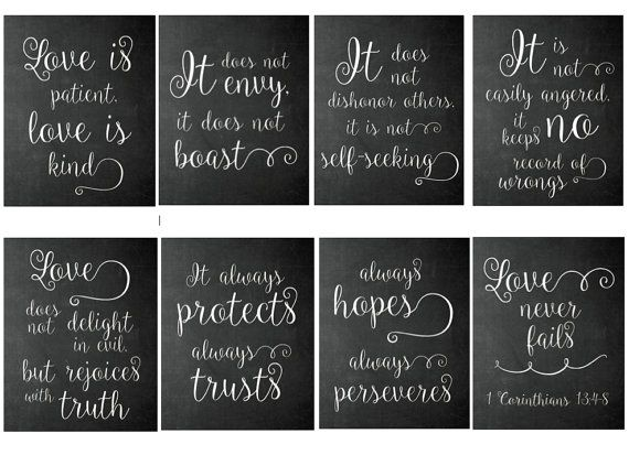 Download Or Prints 1 Corinthians 13 4 8 Eight By Seridoodlepaperco