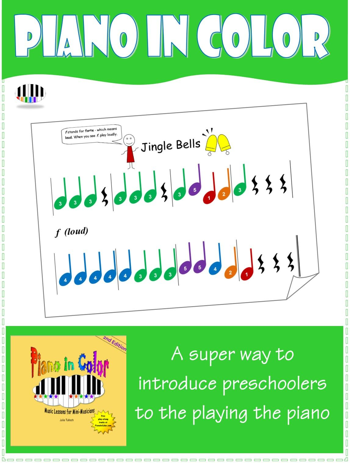 A Fun And Friendly Piano Book For Preschoolers And