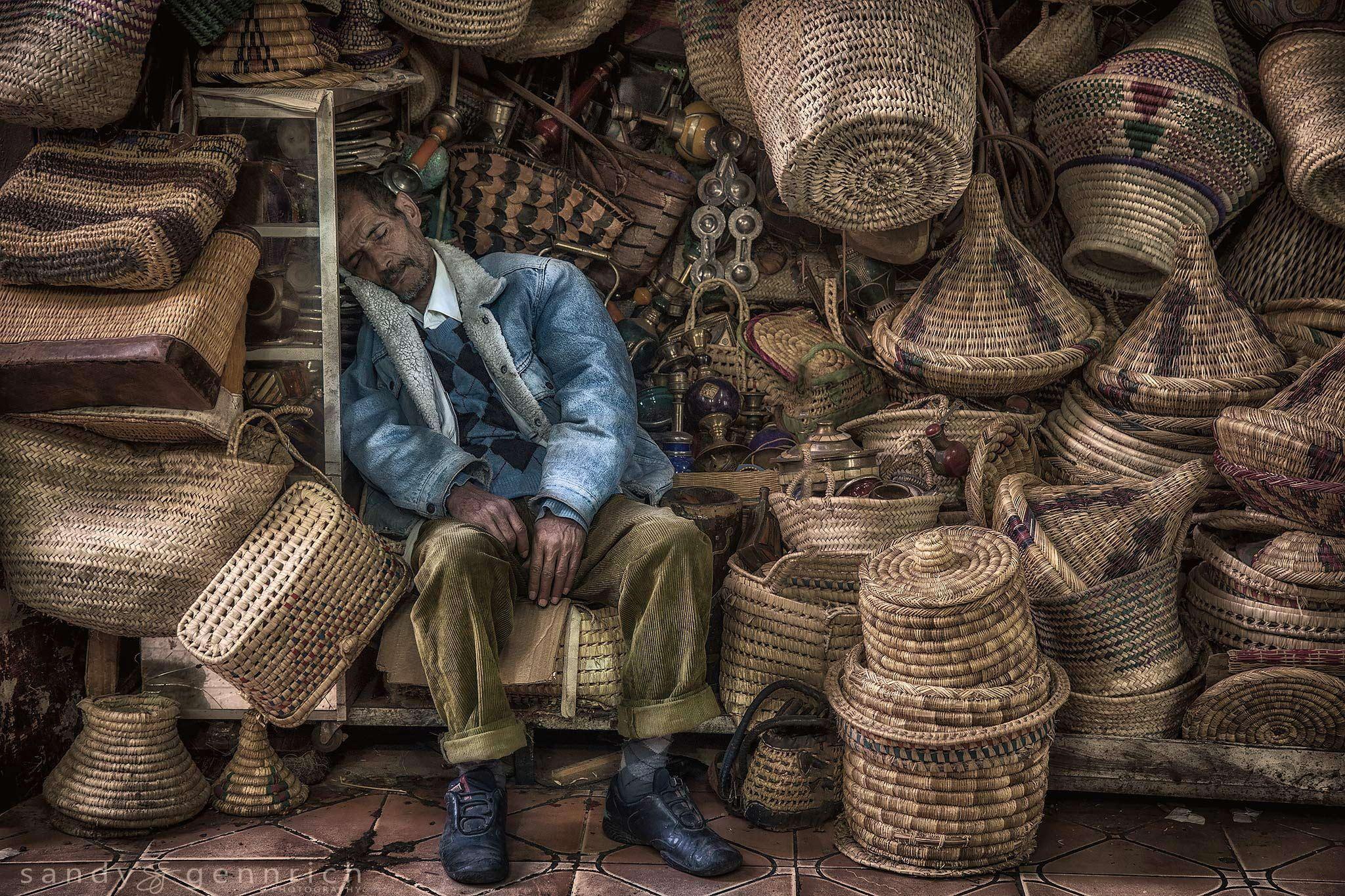 A Long Days Work-Marrakech-Morocco by Sandy Gennrich on 500px