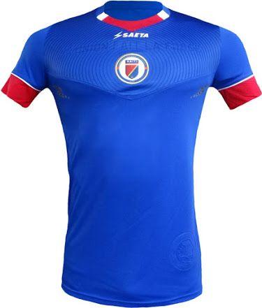 bdee41727 Haiti 2016 Copa America Home Kit Jersey  a