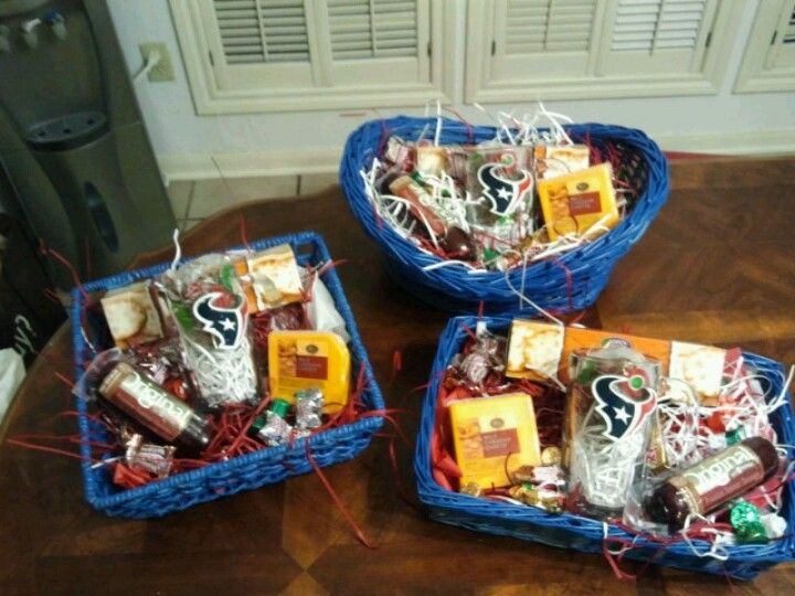Houston Texans Gift basket for the fan in your life. | craft ...