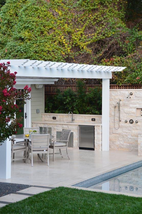 outdoor kitchen shower architectural details architectural detail rh pinterest com