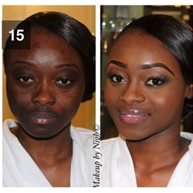 Makeup Before And After Black - Mugeek Vidalondon