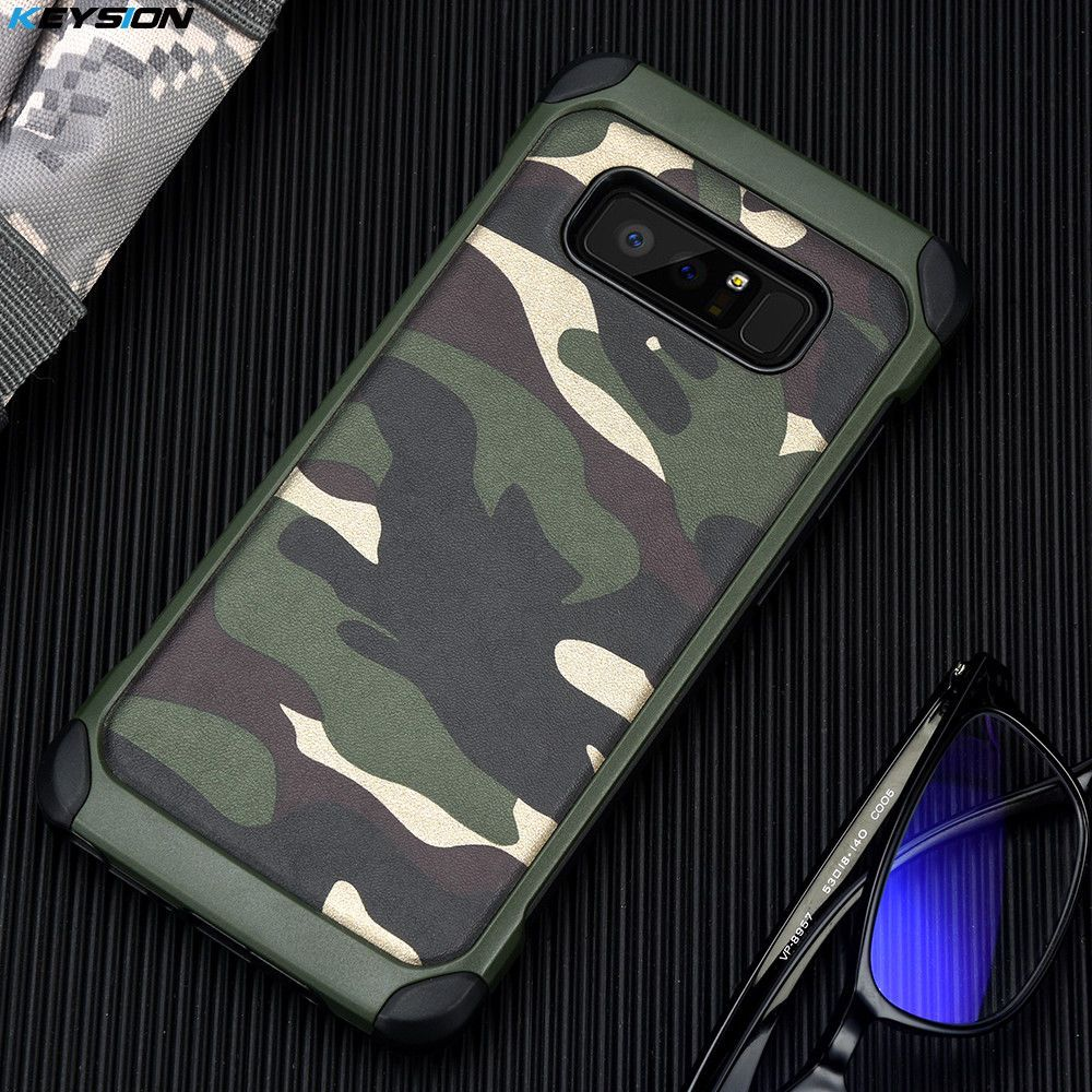 Case for samsung note 8 camo army camouflage premium