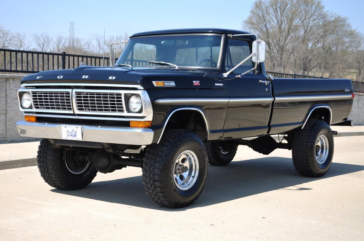 1970 Ford F 250 4x4 Camion Ford Camiones Chevy Carros Y Camionetas