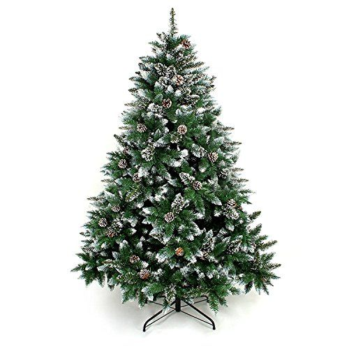 Artificial Christmas Tree 67 Foot Tree with Pine Cone Decoration (6