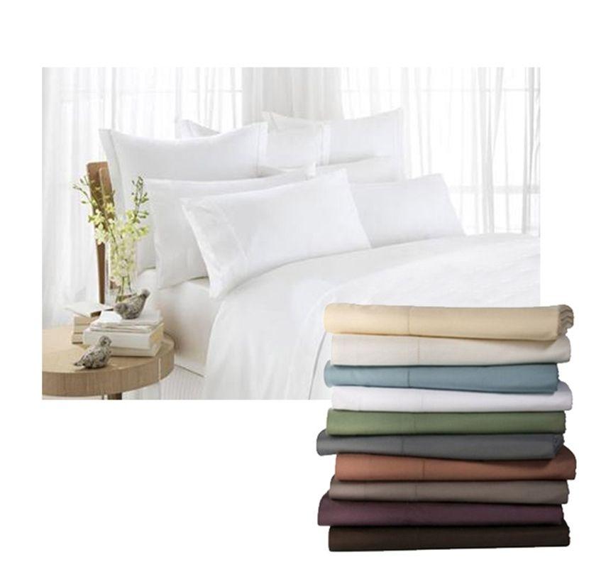 "1000 TC Soft Egyptian Cotton Duvet Set//Sheet Set//Fitted Sheet /""All STRIPE Color/"""