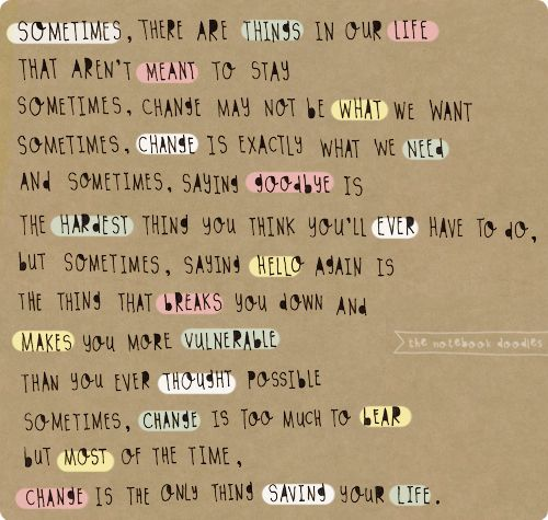 cute quotes about change