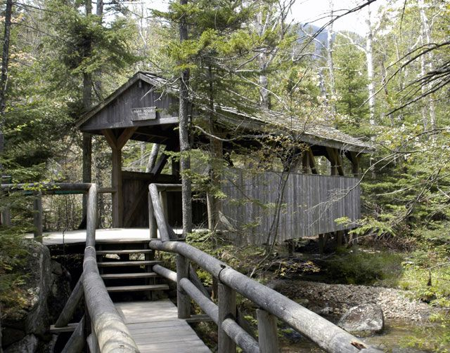 Lost River Covered Bridge/White Mountains