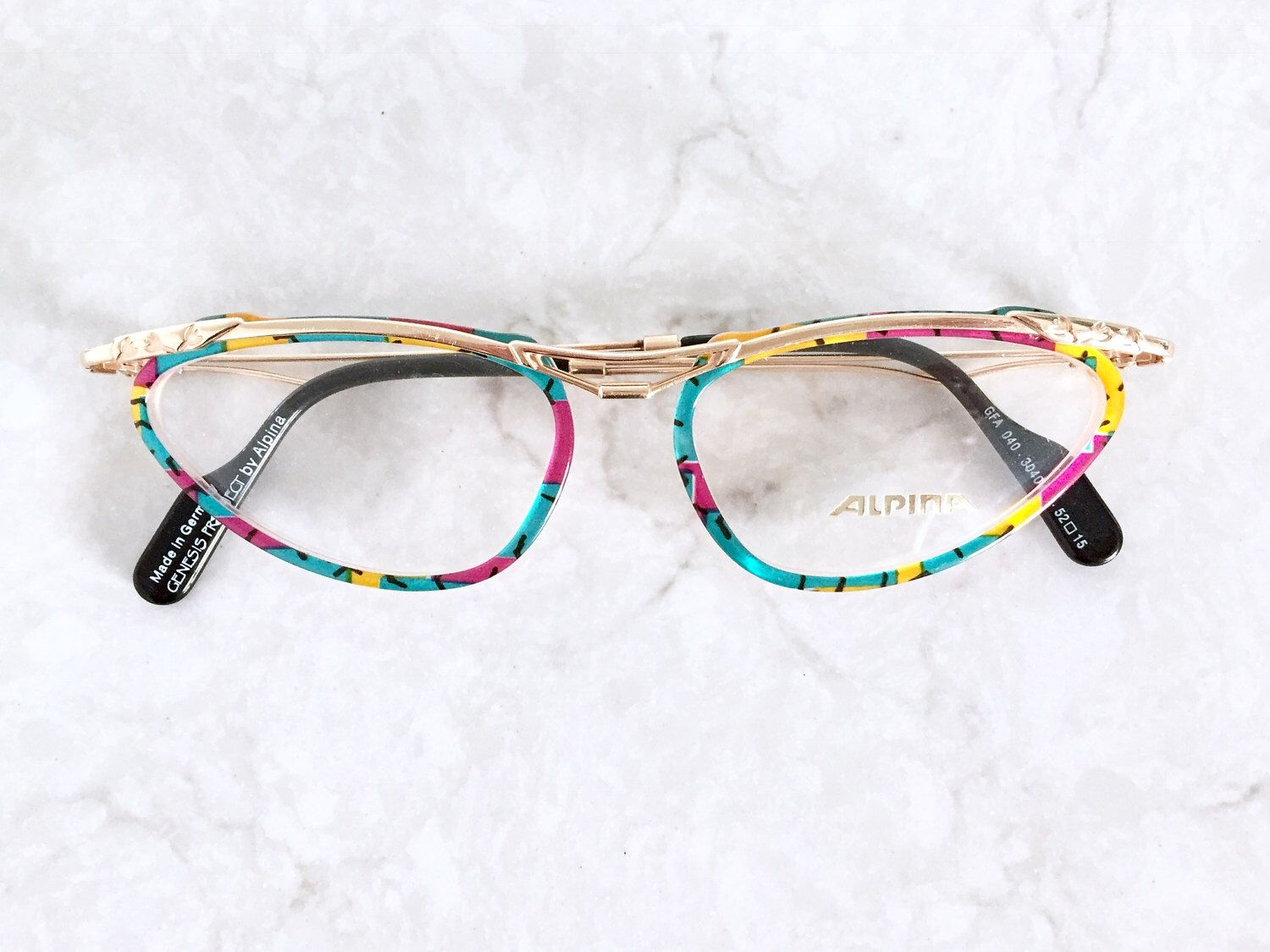 Alpina Eyeglasses / German High Quality Eyeglass Frames Never Used ...