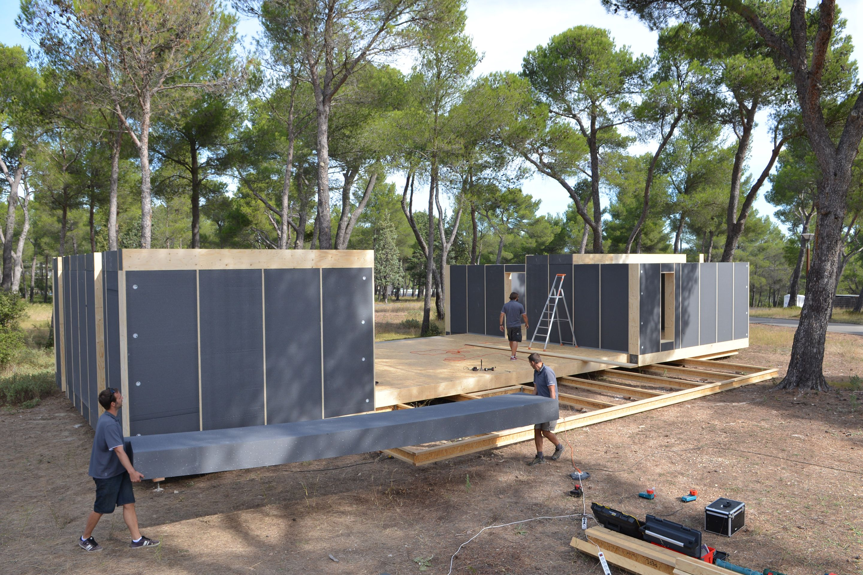 Pop Up House Aix En Provence France Shipping Container