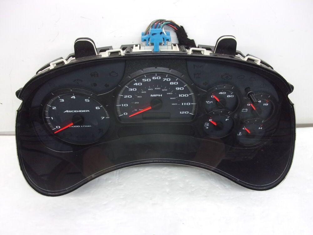 Sponsored Ebay 2005 Isuzu Ascender Mph Speedometer Head Cluster