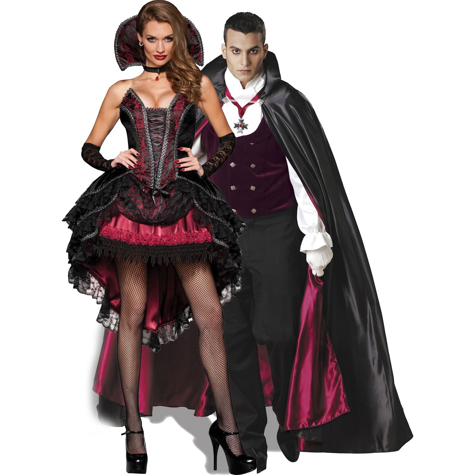 Vampire Couple Halloween Costumes.Pin On Cute Couples Costumes