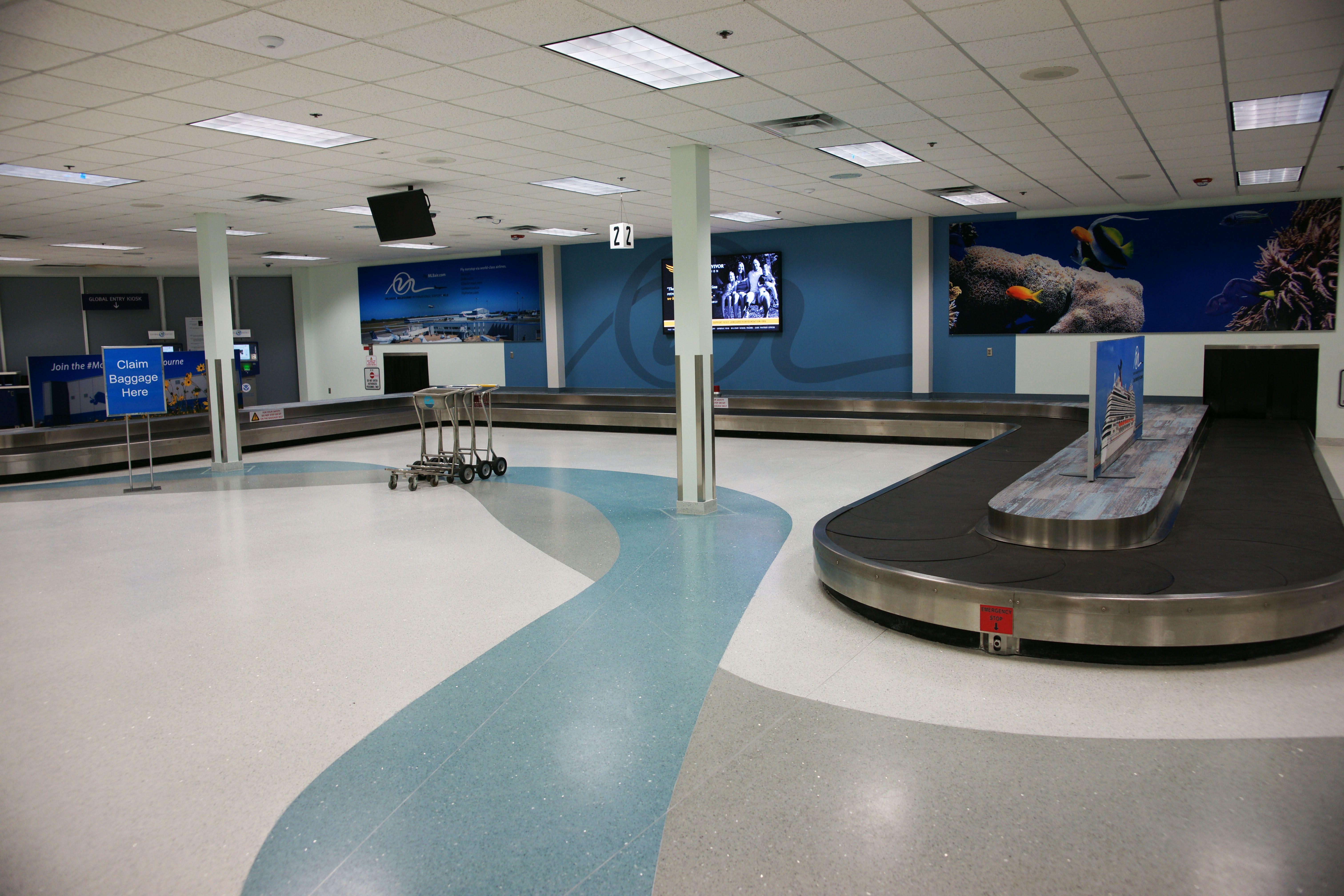 Orlando Melbourne International Airport Terrazzo Terrazzo