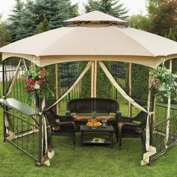 Outdoor Gazebo Tent Walmart in Gazebo & SunjoyDirect.com - Sunjoy Walmart US Vineyard Gazebo Canopy ...