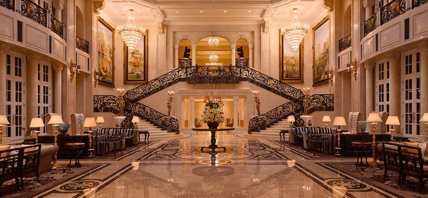 Delightful The Castle Hotel Arrival Lobby · Interior Design ...