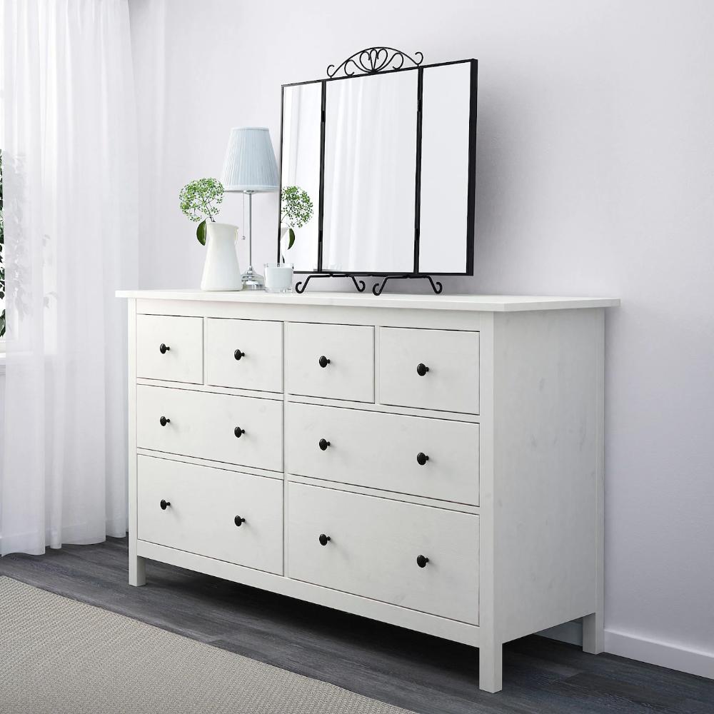 Hemnes 8 Drawer Dresser White Stain 63x37 3 8 Ikea Ikea Hemnes Dresser 8 Drawer Dresser White Dresser With Mirror [ 1000 x 1000 Pixel ]