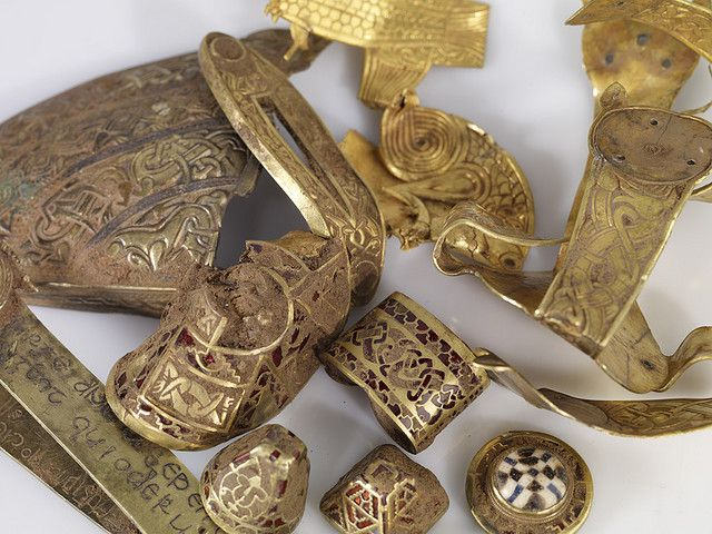 1000 Images About Artifacts Archaeological Treasures On: Artefacts From The Staffordshire Hoard