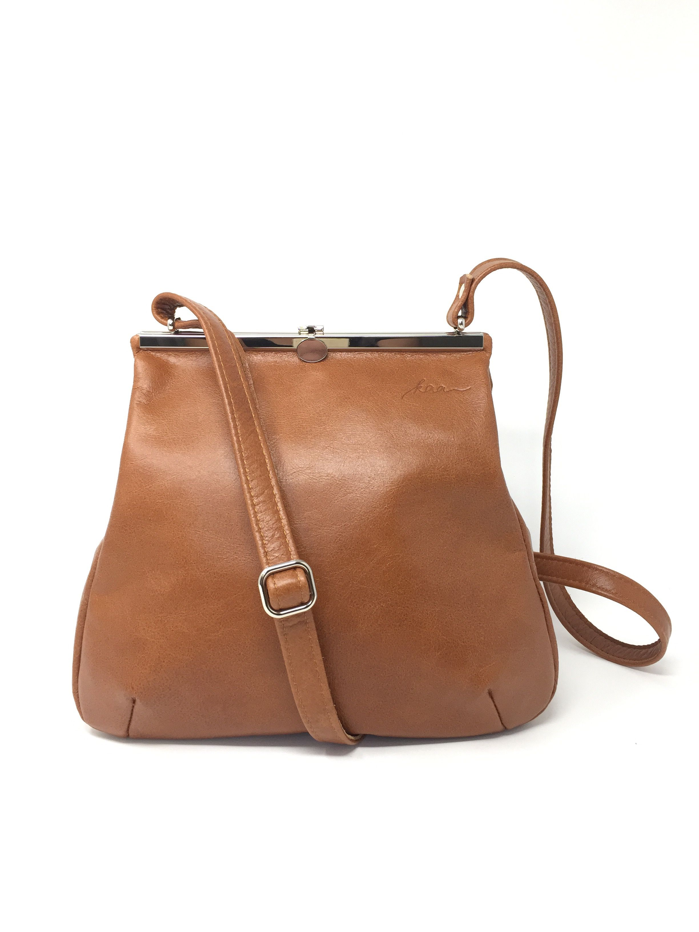 Leconi Umhangetasche Shopper Leder Braun Le0054 Ledertasche Damen Ledertasche Damen Braun Taschen