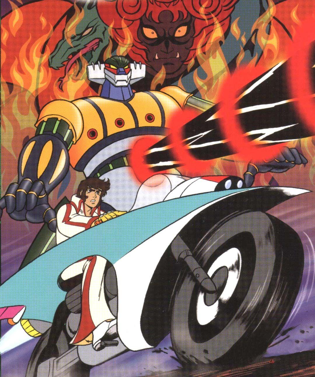 Jeeg robot anni 80 manga anime cartoni animati e robot