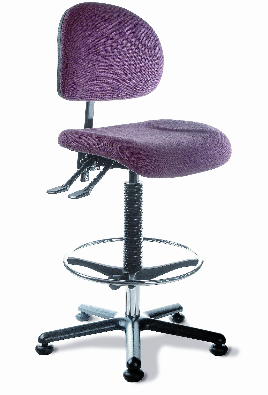 Silla para escritorio color lila sillas para oficina for Silla escritorio oficina