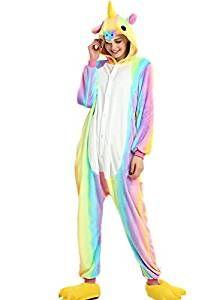 160662269 pijamas enterizos de unicornio colorido