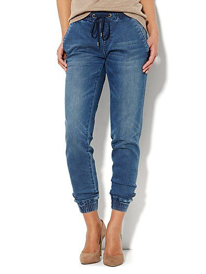 New York Company Women S Wear To Work Clothes Accessories Jogger Jeans Denim Joggers Outfit Clothes For Women