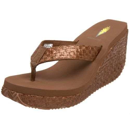 Womens Volatile Women's Cha Ching Wedge Sandal Store Online Size 38