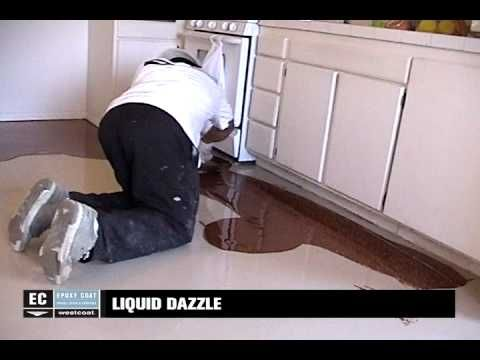 Sion Surfaces Resin Flooring White Pearl Youtube
