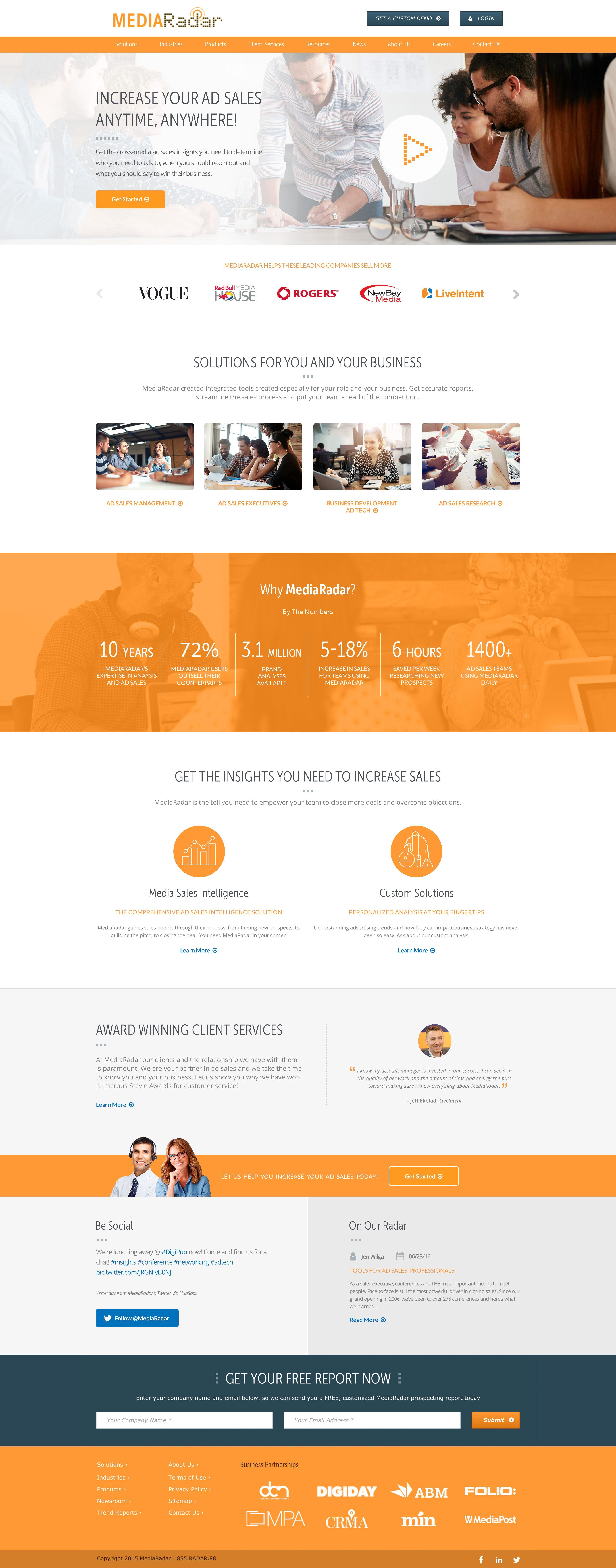 Mediaradar Web Design Index By Lou Stuber Web Design Design Index