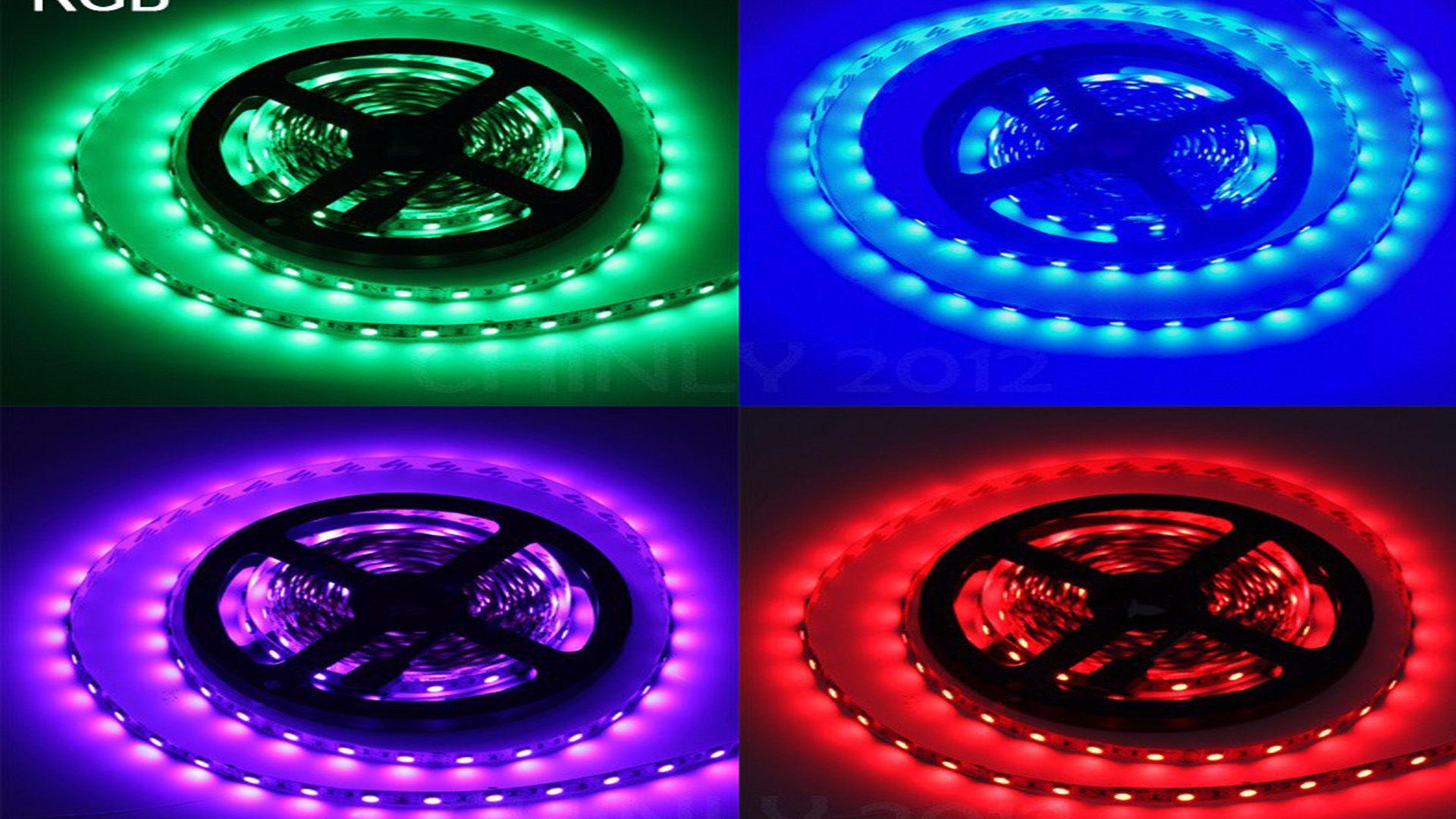 Govee Dreamcolor Led Strip Dreamrgb Led Strip Teckin Smart Light Strip Setup Strip Lighting Smart Lighting Led Strip
