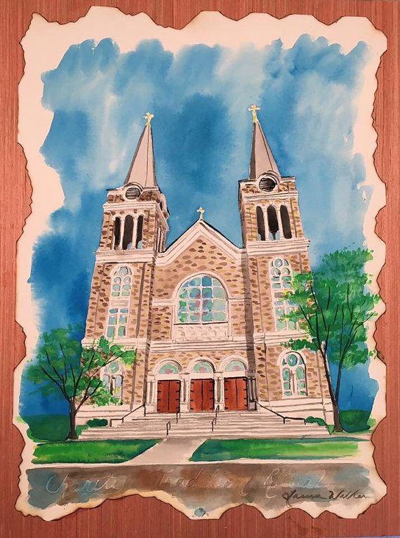 Church painting Alabama art