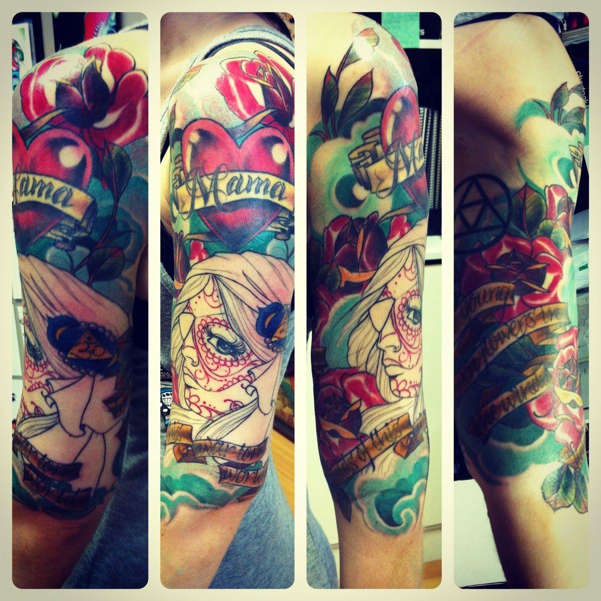 unfinished gypsy tattoo found on reddit | Tattoos, Body ...