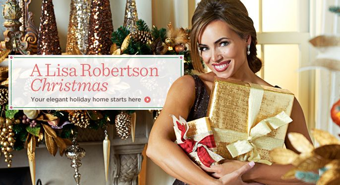 Shopping Online At Home Is Easy With Qvc Official Site Lisa Robertson Holiday Top Brands