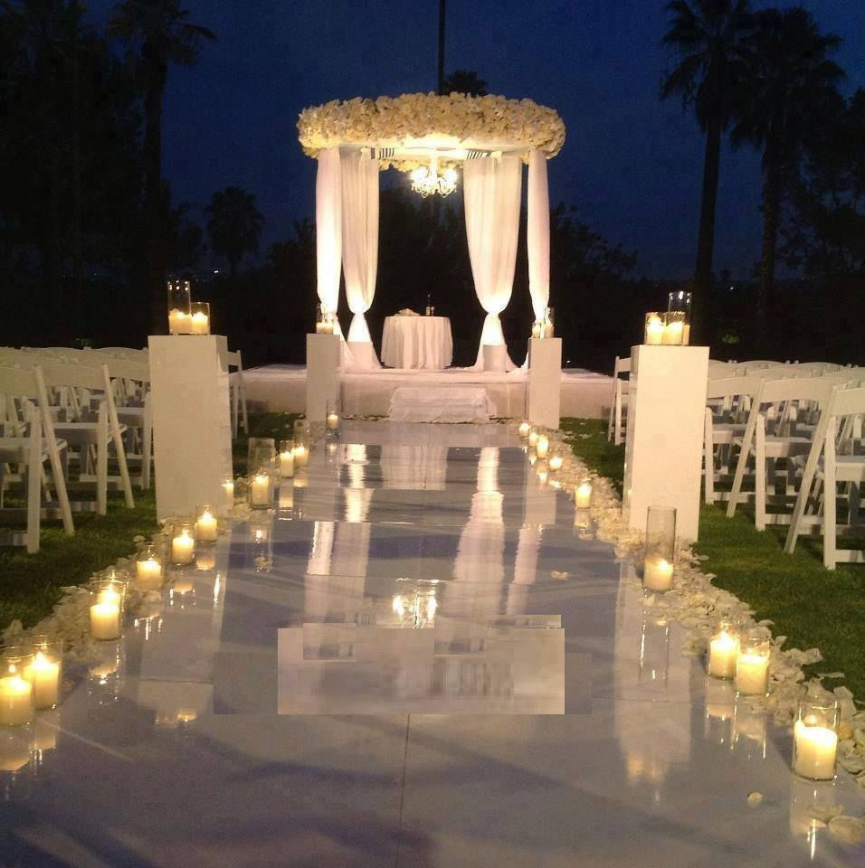 Night Beach Wedding Ceremony Ideas: Absolutely Beautiful Night Ceremony!
