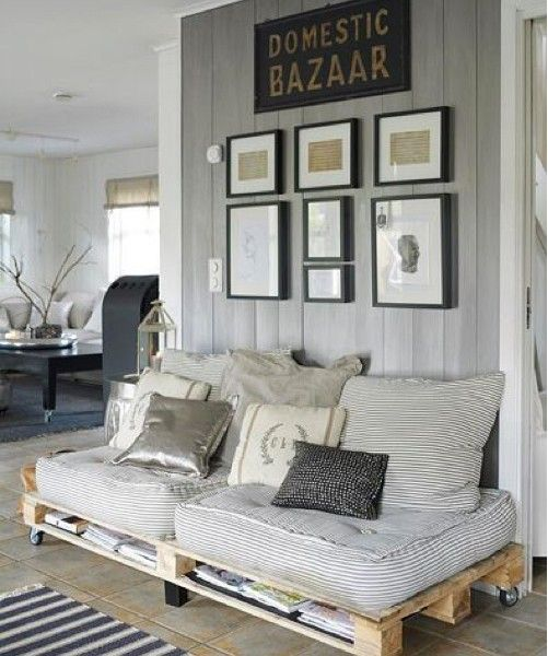 Sofás de palets | Pallets, Palette furniture and Moroccan room