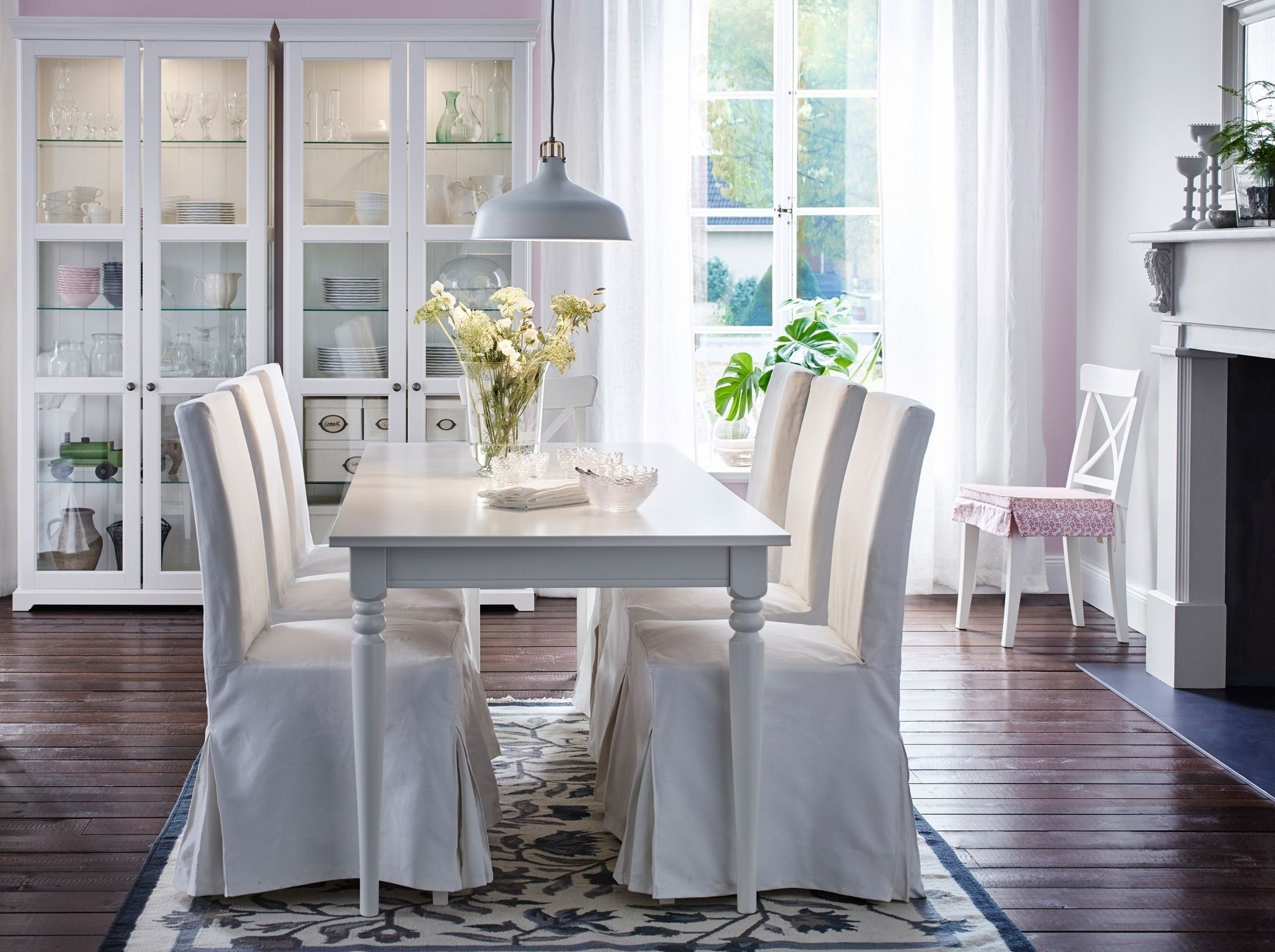 Table Salle A Manger Ikea With Images Ikea Dining Ikea Dining
