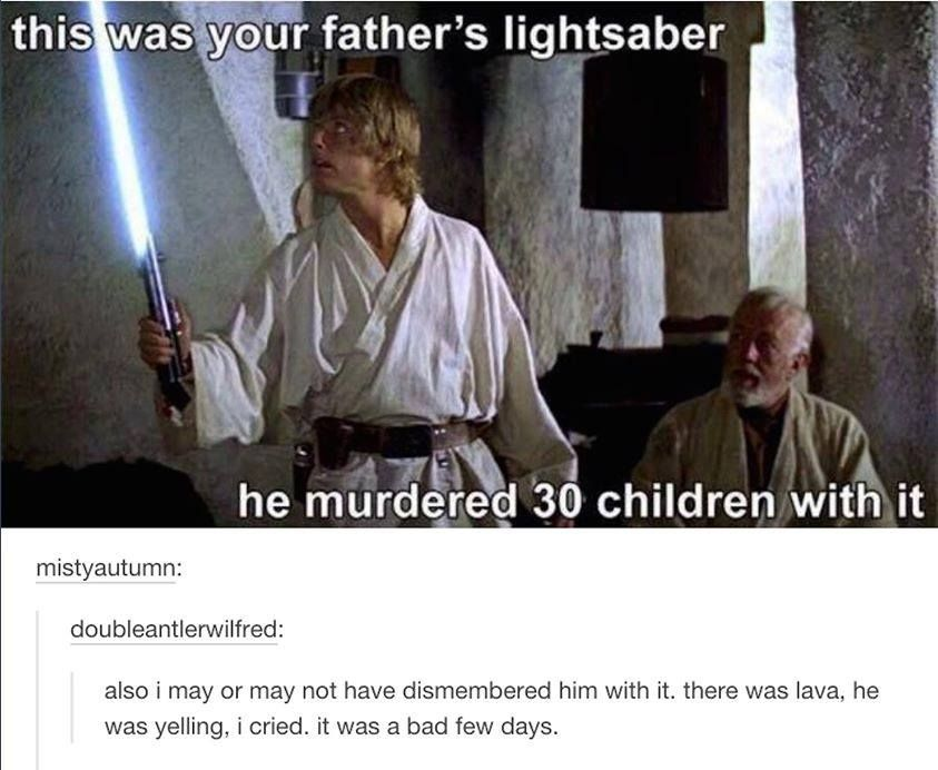Pin By Tim Kendrick On All Fun Stuff Star Wars Humor Star Wars Memes You Are The Father