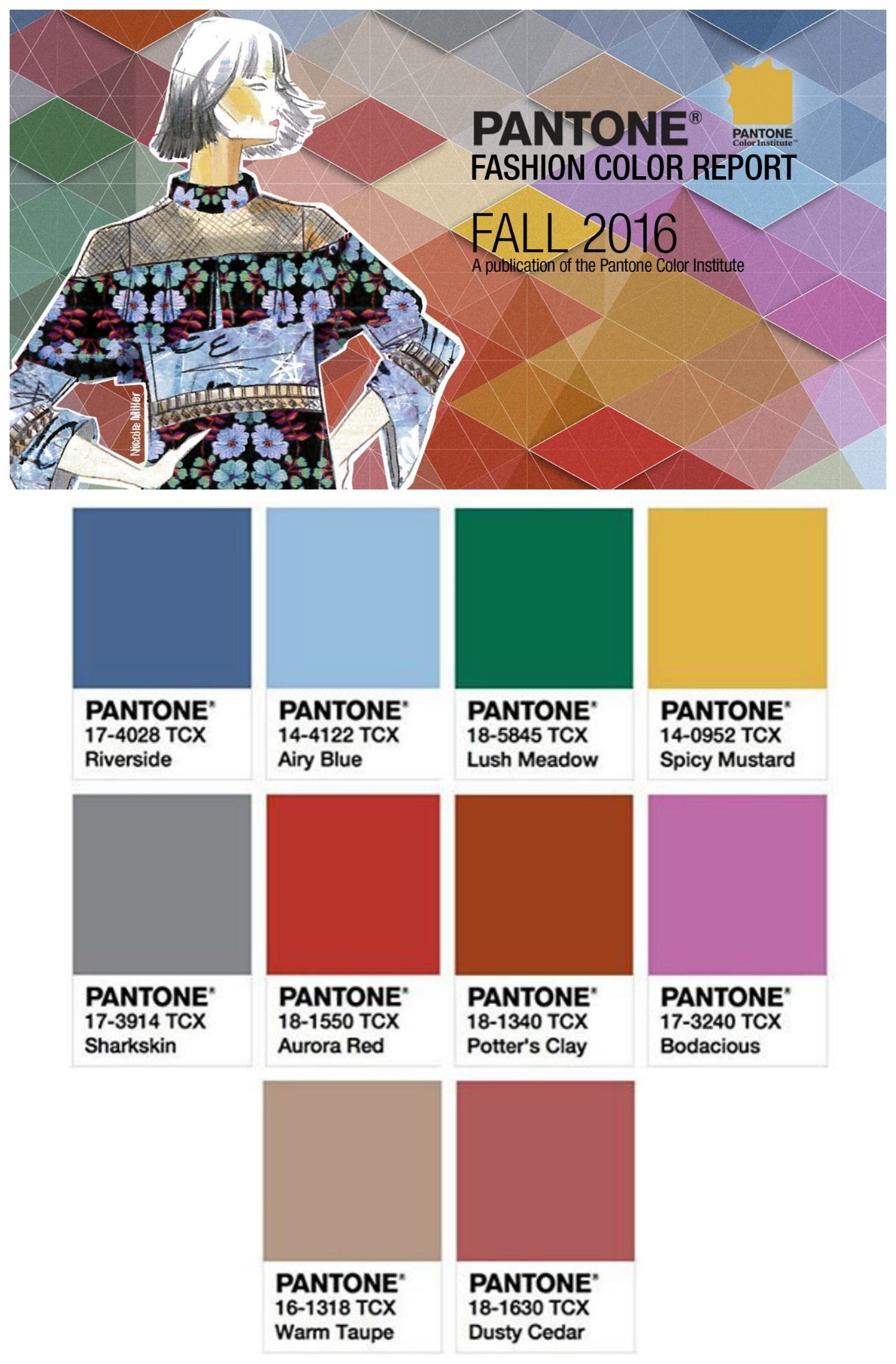 Top 10 Color Trends for Fall/Winter 2016-17 | Pantone, Photo ...