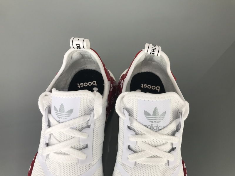 "4c110c342677c Adidas NMD R1 Mesh ""White Red"" BV1608 Men Women Ladies Girls Real Boost for  Sale10"
