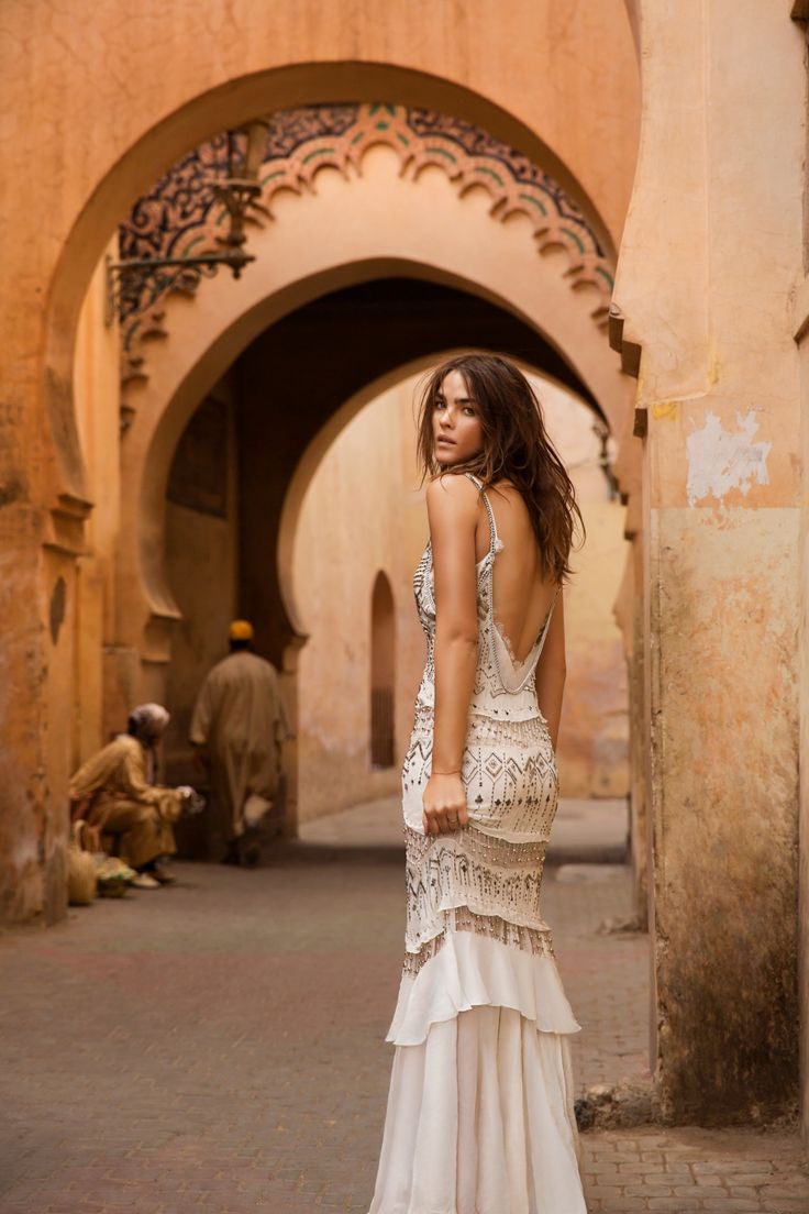 Moroccan Boho Chic Wedding Inspiration Ideas Style Dress Styles: Boho Chic Style Wedding Dresses At Reisefeber.org