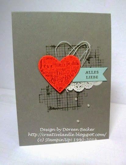 Creativelädle: Valentinsgrüße