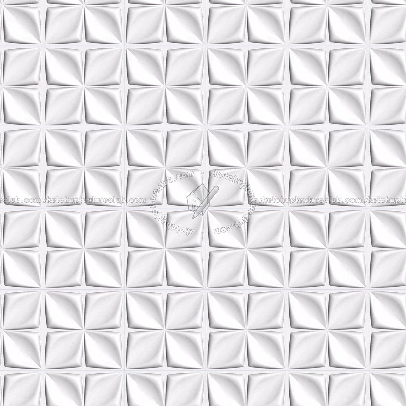 Texture seamless | White interior 3D wall panel texture seamless ... for Office Ceiling Texture Seamless  lp5fsj