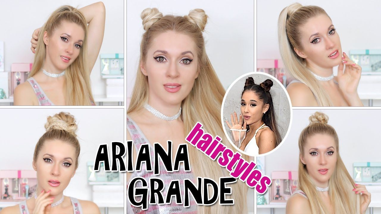 TOP 5 Ariana Grande hairstyles in 2-5 mins ☆ TRENDING! super EASY ...